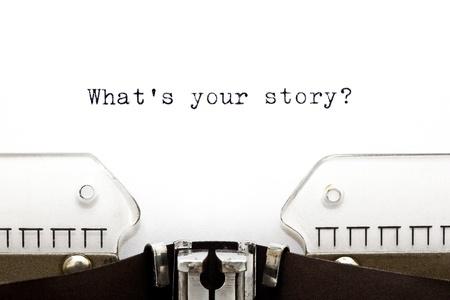 Story Telling_Schreibmaschiene